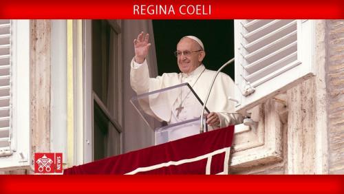 Papa Francisco - Oração do Regina Coeli 2018-04-15