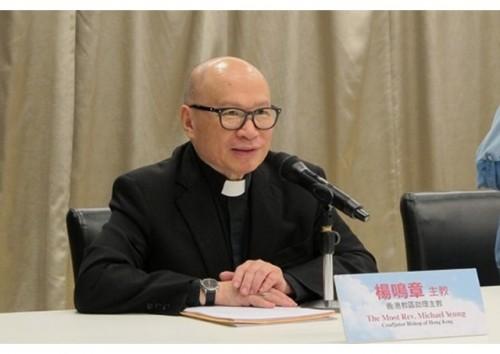 教宗接受湯漢樞機的辭呈,任命楊鳴章助理主教接任香港教區主教