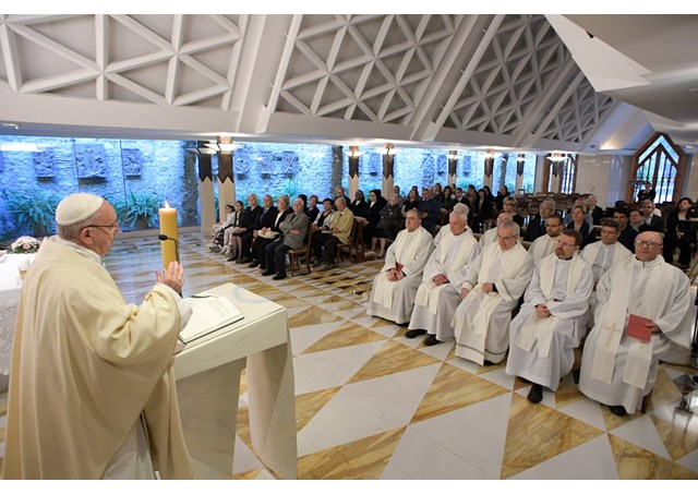 教宗清晨彌撒:教會不能總是處於安寧之中,卻要宣講耶穌