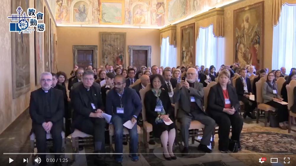大學面對世紀危機 教宗提供可行方案