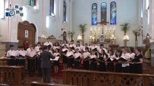主教座堂舉行聖樂晚禱