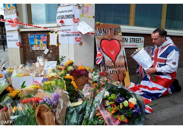 倫敦發生襲擊事件,教宗懇求聖神賜予世界和平之恩