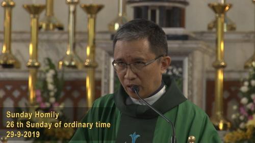 The 26th Sunday of Ordinary Sunday (29-9-2019, Year C)