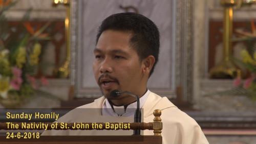 The Nativity of St. John the Baptist (24-6-2018)