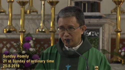 The 21st Sunday of Ordinary Sunday (25-8-2019, Year C)