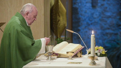 Pope at Mass: Beware of 'slippery slide' toward worldliness
