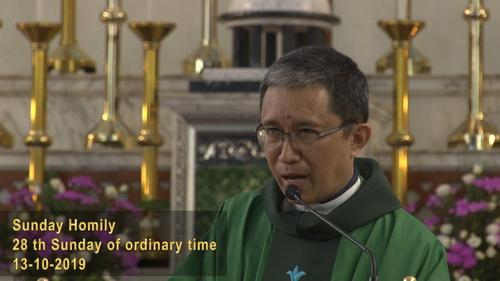 The 28th Sunday of Ordinary Sunday (13-10-2019, Year C)