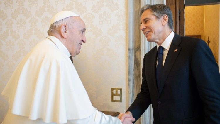 Pope Francis receives US Secretary of State