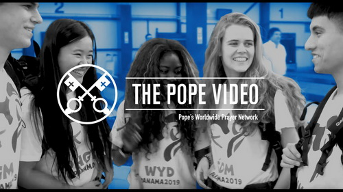 Young People and the Example of Mary - The Pope Video 1 - January 2019