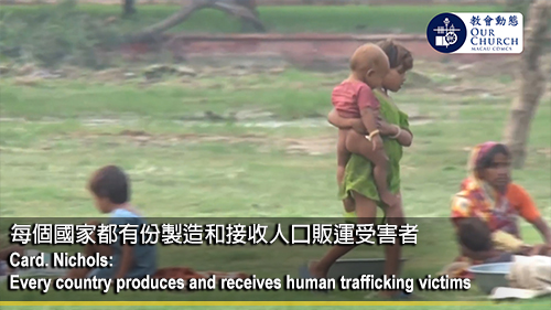 Card. Nichols: Every country produces and receives human trafficking victims