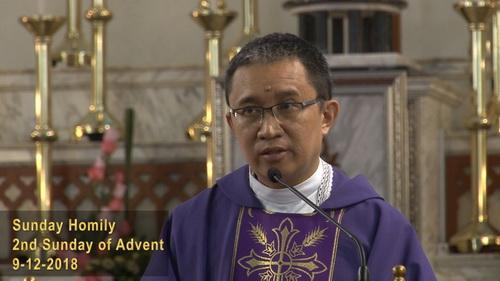 2nd Sunday of Advent (09-12-2018)