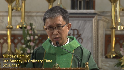 3rd Sunday in Ordinary Time (27-1-2019, Year C)