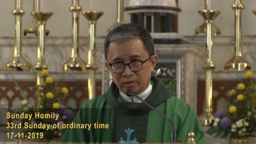 The 33rd Sunday of Ordinary Sunday (17-11-2019, Year C)