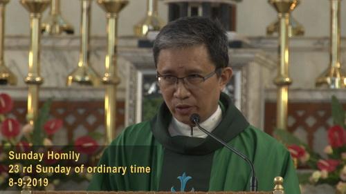 The 23rd Sunday of Ordinary Sunday (08-09-2019, Year C)