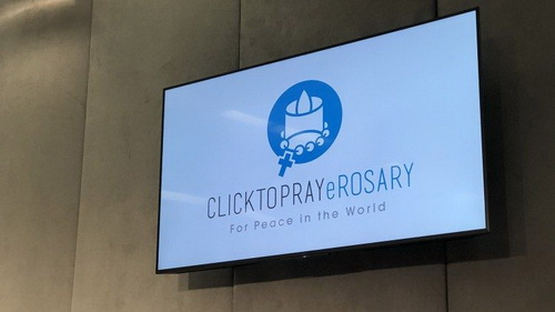 """Click to Pray eRosary"" – wearable smart device to pray the rosary for peace"