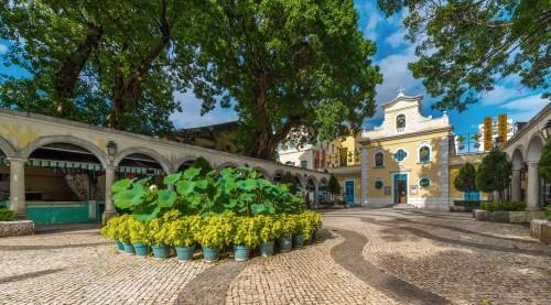 Quase-Paróquia de São Francisco Xavier, Coloane