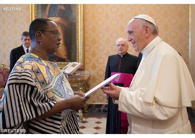 Gana tem novo Embaixador no Vaticano: Joseph Kojo Akudibillah