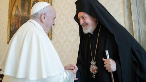 Papa: para um futuro de paz, serve maior comunhão entre cristãos