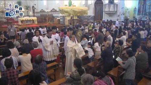 普世基督君王節主教座堂舉行大禮彌撒及聖體出遊(24/11/2019)