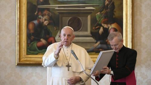 教宗公開接見:身為羅馬主教,慈悲是我必須傳達的訊息