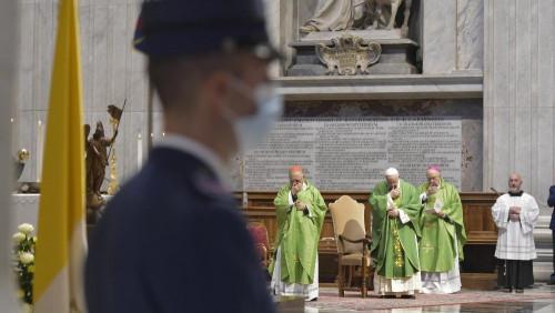 教宗鼓勵梵蒂岡警衛隊成員:你們的道路是謙卑與友善的服務
