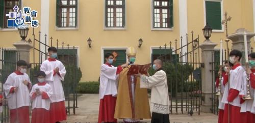 李主教鼓勵教友要在傳承中創新
