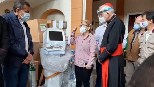 教宗捐贈的呼吸機已轉交委内瑞拉醫院