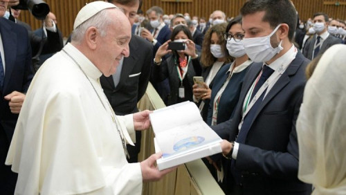 教宗公開接見:基督徒要勇敢說出「不可如此行事」