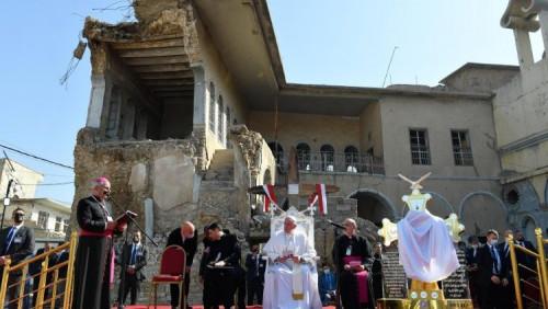教宗為伊拉克戰爭受害者祈禱:和平、正義與祥和的和睦共處