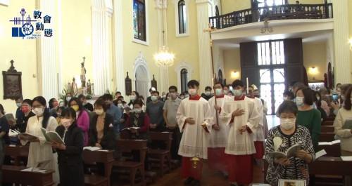 李主教提醒候洗者要「看見」天主的救恩