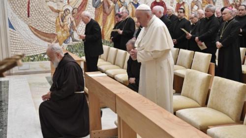 教宗府將臨期默想將於12月4日起在保祿六世大廳舉行