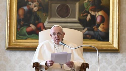 教宗公開接見:《聖經》是天主與人相約的場所