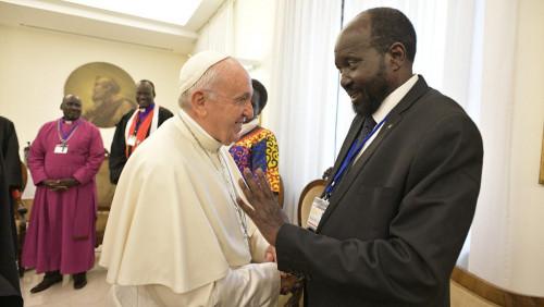 教宗向南蘇丹領導人致聖誕節問候