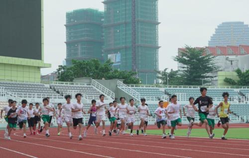 聖中聯合運動會弘揚體育精神