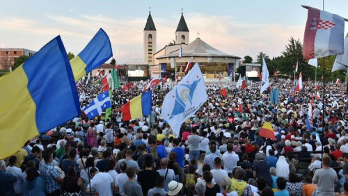 教宗致函梅久戈耶青年節與會者:鼓起勇氣跟隨基督