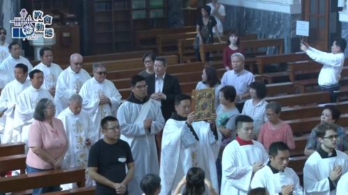 韓國殉教福者聖職修道會張宇鎬執事領受司鐸聖職