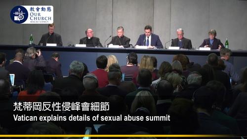 梵蒂岡反性侵峰會細節