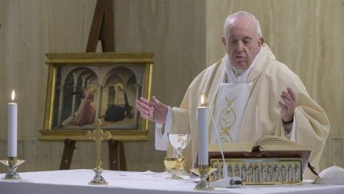 教宗清晨彌撒:為冒著生命危險服務病患的修女們祈禱