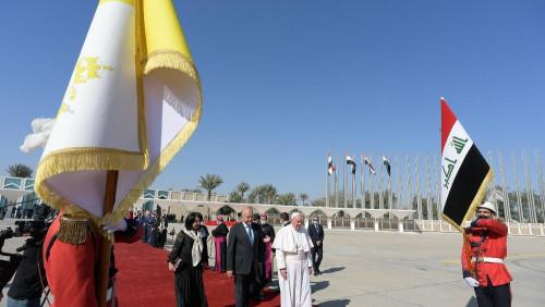 教宗在伊拉克的訪問圓滿結束,到羅馬聖母大殿祈禱