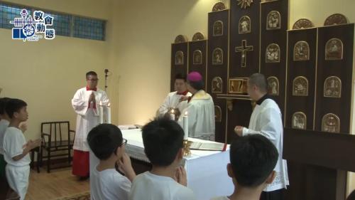 聖若瑟教區學校二三校及五校聖堂舉行祝聖禮儀