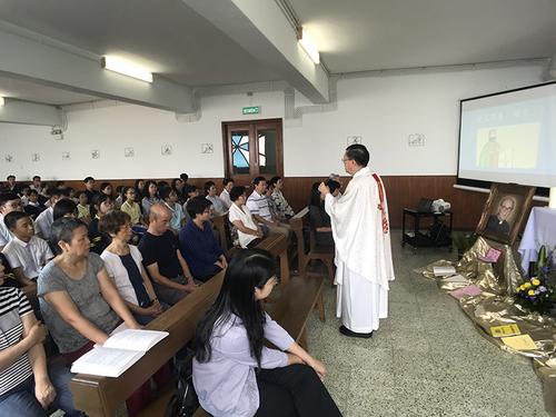 利瑪竇慶祝耶穌會成立479週年  暨明勵志創校神長108歲冥誕