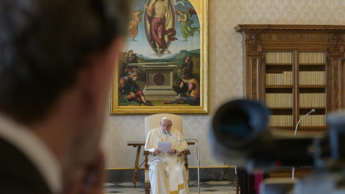 教宗由衷感謝所有致力於對抗新冠病毒疫情的人們