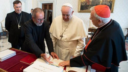 教宗方濟各欣悅接納新版意大利文《彌撒禮儀經書》