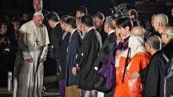 一分鐘視頻:教宗牧靈訪問日本第二天回顧