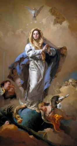 聖母無玷始胎節日各堂禮儀時間