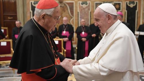 索達諾卸任樞機團團長,教宗修訂該職務為五年一任