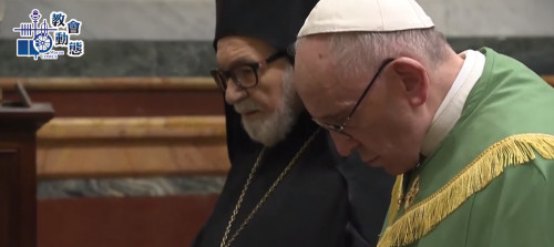 教宗展開基督徒合一祈禱週