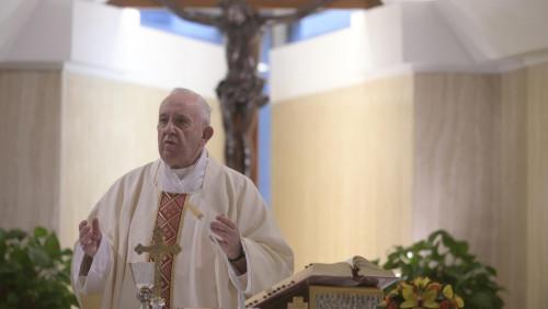 教宗清晨彌撒:求主恩祐天主子民謹慎應對疫情