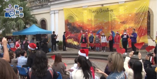 氹仔嘉模聖母堂舉行一年一度聖誕巿集(15/12/2019)