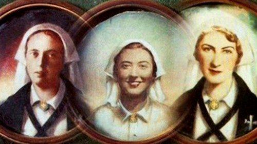 西班牙内戰期間遇害的三位紅十字會護士榮列真福品